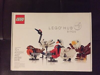 Rare  Exclusive  Lego 4002014 Hub Birds Employee Gift New And Sealed