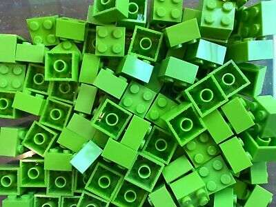 LEGO- BRAND NEW- #3003-2 x 2 -LIME GREEN-50 BRICKS