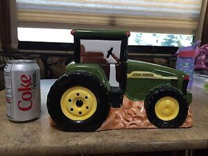 John Deere Cookie Jar and Canisters