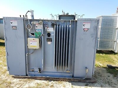 Square D Substation Transformer 750 Kva Pri 12470 Sec 480y277 Volt Three Phase