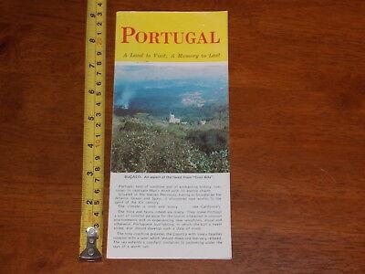 BROCHURE OLD VINTAGE PORTUGAL LAND TO VISIT MEMORY TO LAST