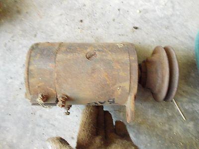 Farmall Ih H Hv Sh M Mv Sm Tractor 6v Generator Good Belt Drive Front Pulley