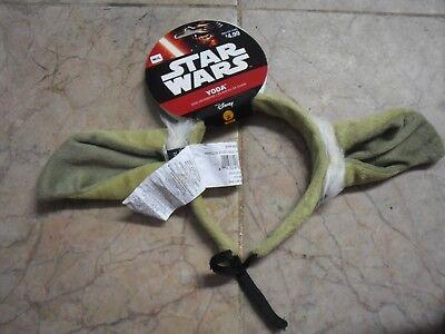 Yoda Headband (New ! Disney Star Wars Yoda Dog Headband Size Medium/Large)