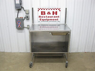 36 X 24 Stainless Steel Heavy Duty Table Cabinet W Drawer Shelves 3 X 2