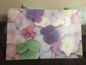 Ikea Flower Canvas Painting