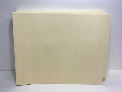Smead End Tab File Jackets w/ Shelf-Master Reinforced Tab, Letter, Manila, 50/BX (End Tab Shelf)