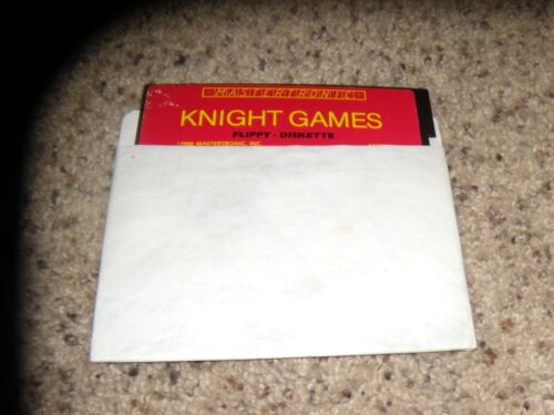 """Knight Games Commodore 64 C64 Game 5.25"""" disk"""