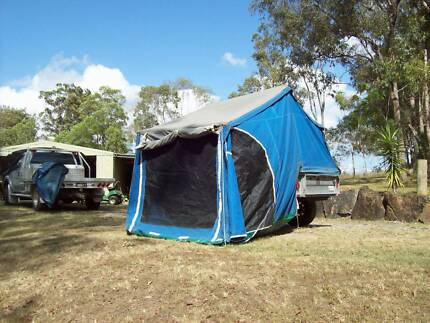 Camper Trailer Full Galvanized Mothar Mountain Gympie Area Preview