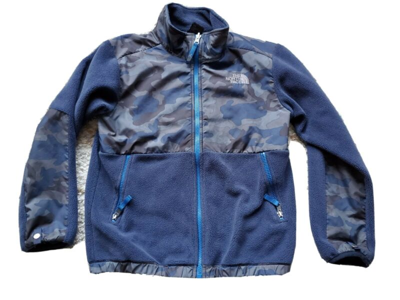 NORTH FACE DENALI CAMO FLEECE JACKET in Boy