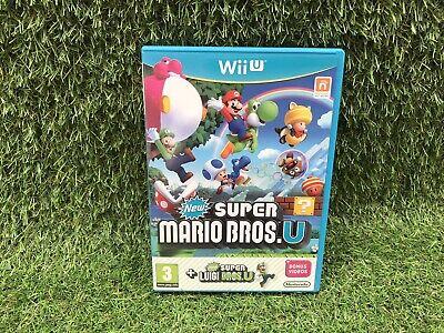 New Super Mario Bros U + New Super Luigi U Nintendo Wii U Game UKV