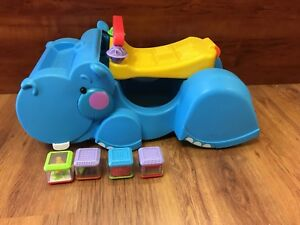 Hippopotame mangeur de blocs Fisher price
