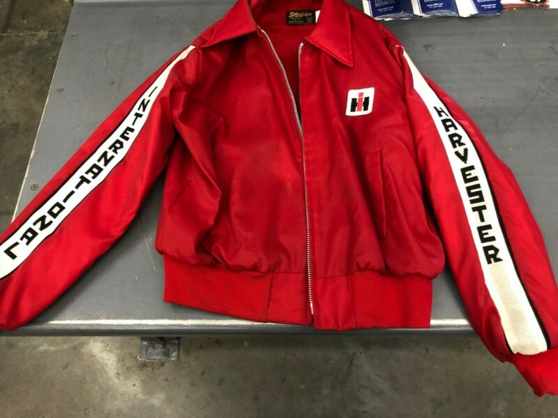 INTERNATIONAL HARVETSER WINTER COAT JACKET IH FARMALL