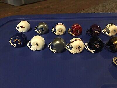 NFL Vintage Football Mini Helmets Plastic Lot Gumball Vending Machine Toy](Toy Football Helmets)