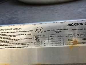 bbq jackson grill en stainless