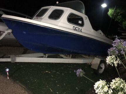 Fishing boat 15ft (4.5m) 55hp