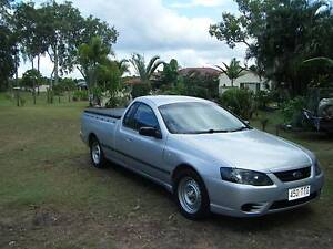 FORD  FALCON  XL  BF MKII  UTE  2008  LPG  AUTO WITH 6 MTHS. REG. Dundowran Fraser Coast Preview
