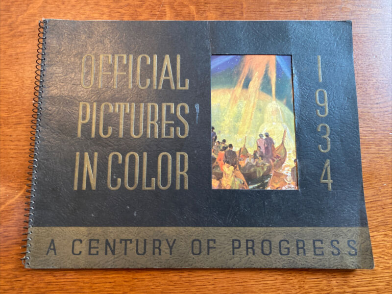 Official Pictures In Color 1934 Worlds Fair A Century Of Progress