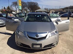 2009 Acura TL accident free low km new tire