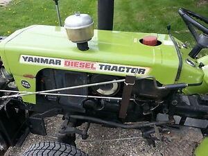 YANMAR YM155D 4WD TRACTOR 3PT HITCH