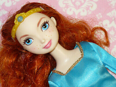 Mattel Disney Fashion Barbie BRAVE MERIDA DOLL with Dress and Accessories