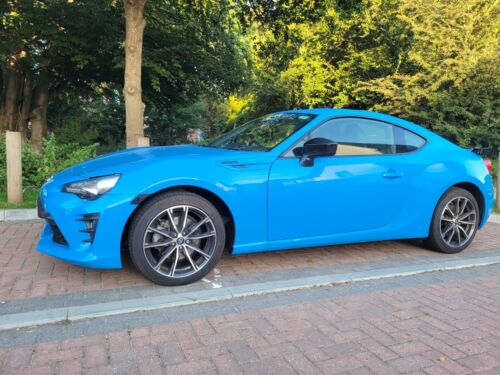 Image of Toyota GT86 CLUB SERIES BLUE edition 2019 D4S manual Coupe Petrol
