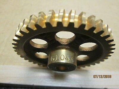 New Boston G1044 Bronze Worm Gear 16 Dp 40 Teeth 516 Bore R.h.