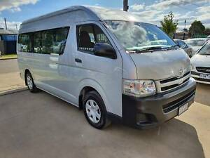 2012 Toyota Hiace Commuter AUTO REGISTERED 10 SEATS WHEELCHAIR LIFT Williamstown North Hobsons Bay Area Preview