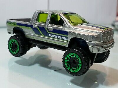 Hot Wheels DODGE RAM 1500 | ZAMAC | 2017 HW Hot Trucks | Super Rare