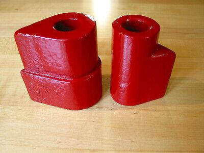 Hossfeld 1 Tear Drop Shaped Cam Dies To Bend U-bends S-shapes In Flat Or Bar.