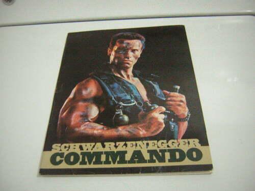 COMMANDO PRESS KIT 1985 12 PRESS PHOTOS ARNOLD SCHWARZENEGGER PROMO