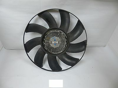 OEM BMW X5 E53 E65 E66 BEHR Front Engine Attached Coupling Cooling Fan 7505109