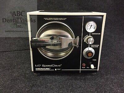Midmark Ritter M7 Autoclave Sterilizer Speedclave Refurbished 1 Year Warranty