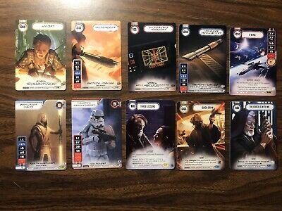 Star Wars: Destiny Full Art Promo Lot Draft Kit Quick Draw Stormtrooper Jedi