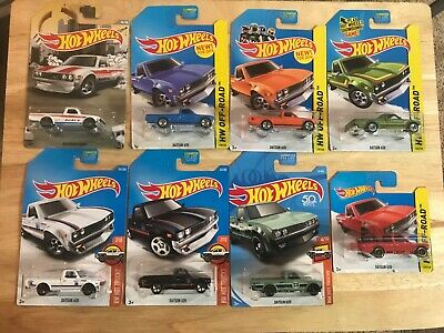 hot wheels datsun 620 truck lot of 8