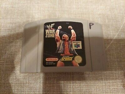 WWF WAR ZONE NINTENDO 64 N64 PREOWNED CART ONLY