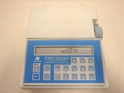 Nalco 47800-60 Portable Spectrophotometer Model Dr2000