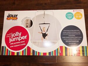 Jolly Jumper with portable stand (Brand New)