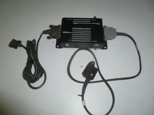 MA/COM GE ERICSSON TQ3370 Two Way Radio Programming Interface & TQ3392 Cable