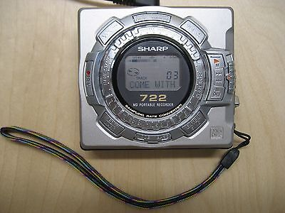 Sharp MD-MS722 Portable MiniDisc Recorder / Player