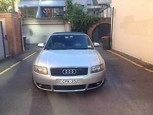 2003 Audi A4 Convertible Woolloomooloo Inner Sydney Preview
