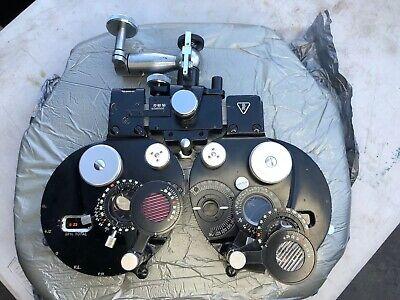 Baush Lomb Optical Phoroptor Serial 2159vh Vintage Eye Doctor Optometrist