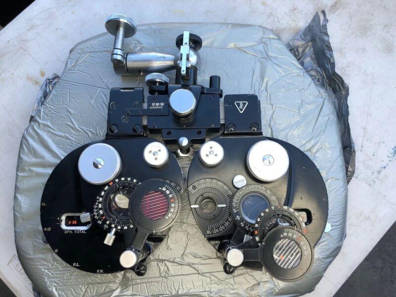 Baush & Lomb Optical Phoroptor Serial# 2159vh Vintage Eye Doctor Optometrist