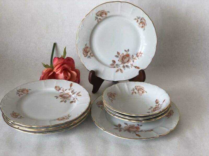 fine bohemian china czechoslovakia