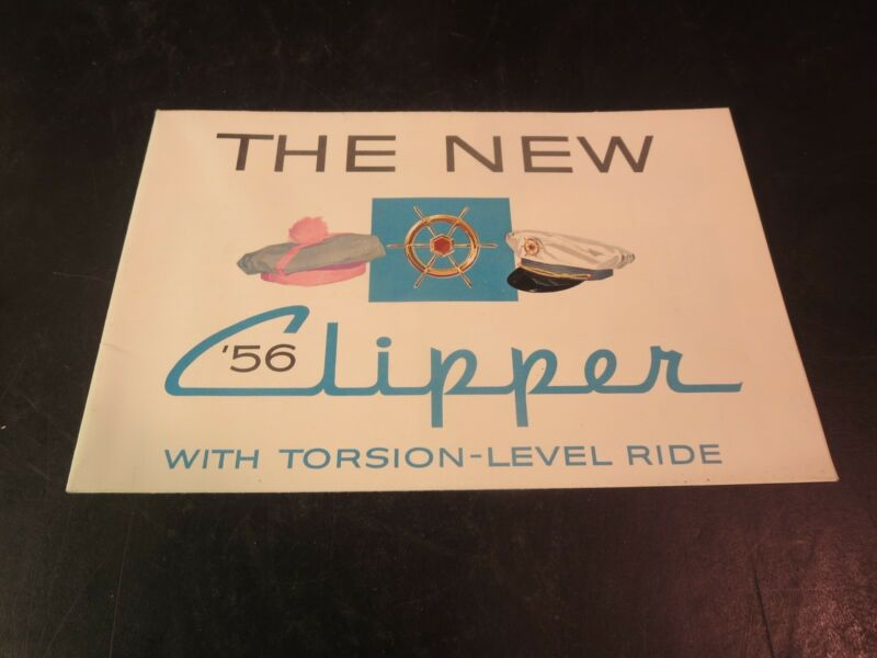 Original 1956 Studebaker Clipper Sales Brochure