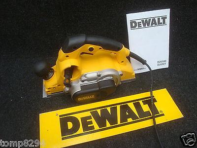 BRAND NEW DEWALT D26500 4MM 1050WATT PLANER 240V 240VOLT BARE UNIT