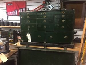 Antique Portable Tool Cabinet