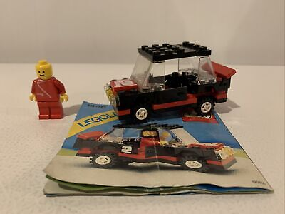 LEGO #1496 Rally Car - Near Complete w/ instructions - vintage