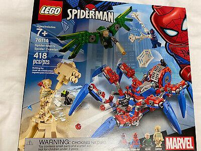 LEGO Marvel: Spider-Man's Spider Crawler Building Kit 76114 (418 Pieces)