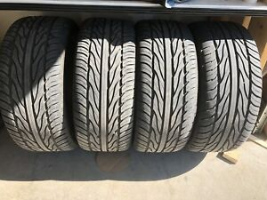 305/35R24 brand new tires and rims