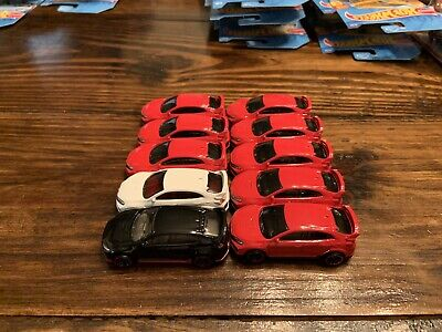 Hot Wheels 2020 2018 Honda Civic Type R White Black And Red Lot Of 10